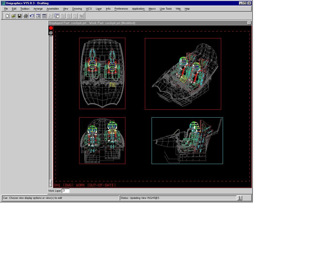 Unigraphics V15 Benchmark Information
