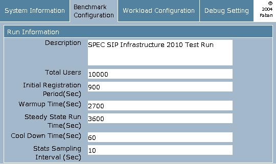 how to run spec benchmark